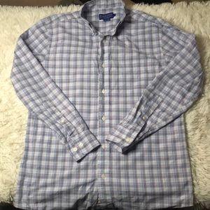 Pendleton button down dress top
